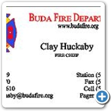 Business Cards Clay Huckaby